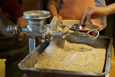 Suzanne's Blog: Flour Power and the Ol' Grind