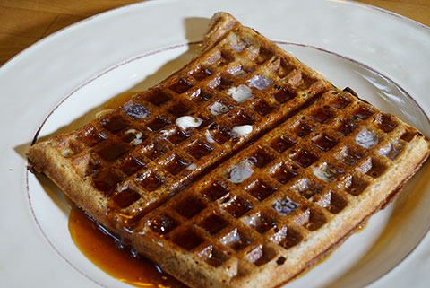 Suzanne's Blog: Welcome Waffles